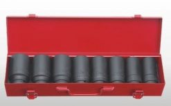 "3/4"" Dr. 8pc Deep Impact  Socket Set - 6 PT"