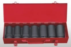 "1"" Dr. 7pc Deep Impact  Socket Set - 6PT"