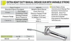 EXTRA HEAVY DUTY GREASE GUN