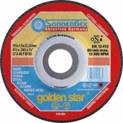 Golden Star Slípiskífa 125 X 6mm