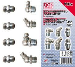 110 piece Grease Nipple Assortment