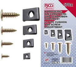 170 piece Screw and U Type Cushion Assortment
