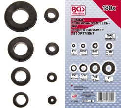 180 piece SAE Rubber Grommet Assortment