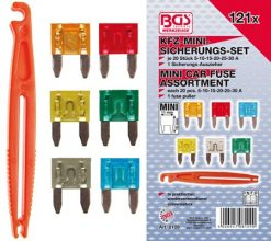 Mini Car Fuse Assortment 121-piece