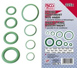 HNBR O-Ring Assortment  3-22 mm Ø 225-pieces