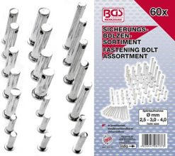 Fastening Bolt Set 60-piece