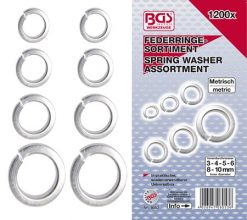 Spring Washer Assortment 1200-pieces