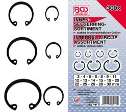 Internal Circlip Assortment 3-32 mm 300-pieces