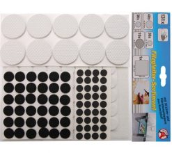 131-piece Felt Pad Assortiment  self-adhesive