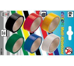Color Tape Rolls 6-piece