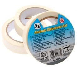 Masking Tape 3-piece  25 m x 24 mm