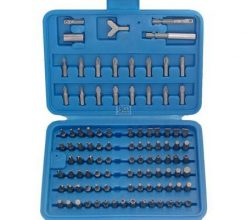 100-piece Security Bit Set 1/4""
