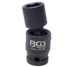 "Impact Universal Joint Socket, 1/2"", 16 mm"