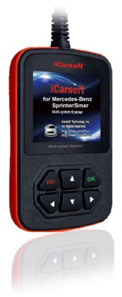 Benz/Sprinter +OBDII Multi-System Scanner