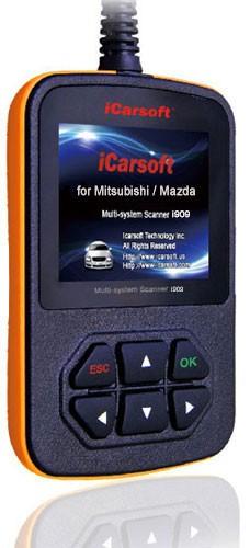 Mitsubishi / Mazda + OBDII Scanner i909 + OBDII