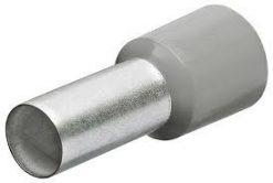 Endaslífar, gráar, 0,75 mm² (200 stk)