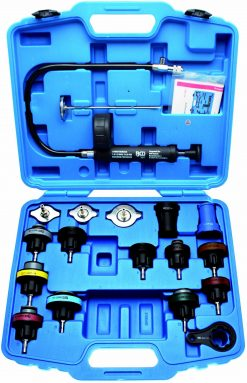 14-piece Radiator Pressure Test Kit