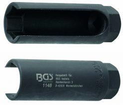 "Oxygen Sensor Socket, 22 mm (7/8"") x 50 mm, 3/8"" drive"