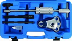 6-piece Puller Set with Sliding Hammer, forged