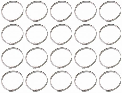 20-piece Band Clamp Set, 280 mm