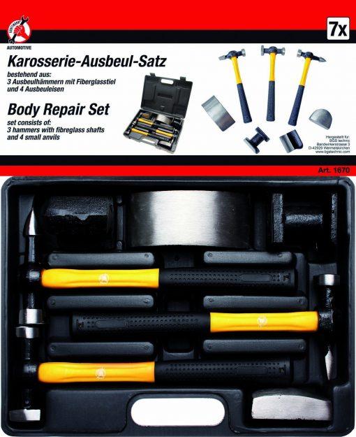 7-piece Body Repair Set