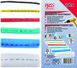 100-piece Color Shrinking Tubing Assortment