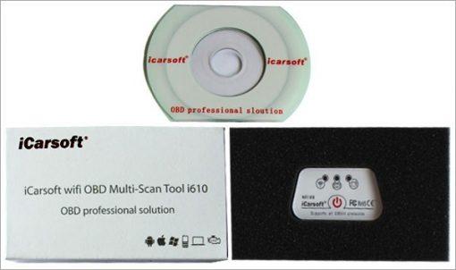 WIFI OBD Multi-scan Tool i610