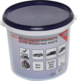 Tyre Fitting Grease For Run Flat Tyres | blue | 5 kg bucket