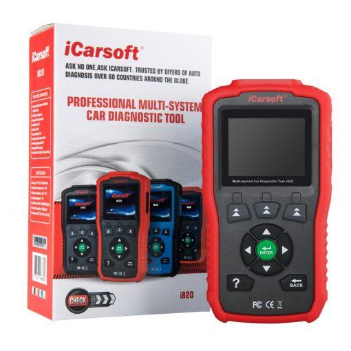 iCarsoft OBDII/EOBD&CAN Auto Diagnostic Tool i820